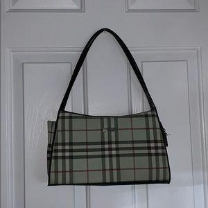 Like new Burberry mint green purse